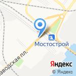 Алидан на карте Астрахани