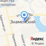Администрация Знаменского сельского поселения на карте Йошкар-Олы