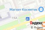 Схема проезда до компании 1000 мелочей в Астрахани
