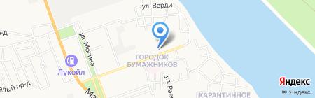 ЖЭК-2 на карте Астрахани