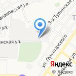 Чистый город на карте Астрахани