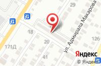 Схема проезда до компании Арбуз в Астрахани