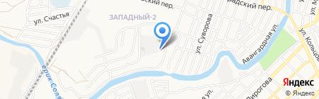 ГРИАНДР на карте Астрахани