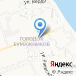 Владимирский на карте Астрахани