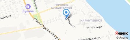 Средняя общеобразовательная школа №29 на карте Астрахани