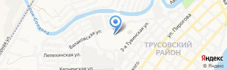 Транспортная компания на карте Астрахани