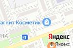 Схема проезда до компании Вкусная ярмарка в Астрахани