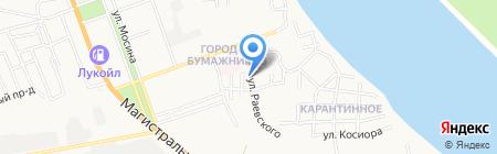 АВТОМАТИЧЕСКИЕ ВОРОТА на карте Астрахани