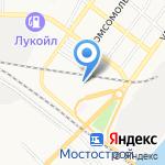 Л.А.В. на карте Астрахани