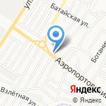 Блеск Авто на карте Астрахани