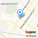 Дизель-маркет на карте Астрахани