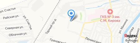 Кстати на карте Астрахани
