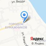 Киоск готовой выпечки на карте Астрахани