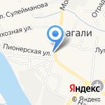 Абсолют на карте Астрахани