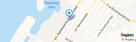 Строительные материалы на карте Астрахани