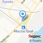 Ёрш на карте Астрахани