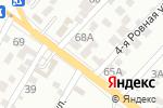 Схема проезда до компании Аннушка в Астрахани