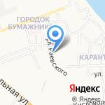 Александра на карте Астрахани