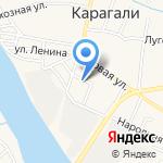 Почтовое отделение на карте Астрахани
