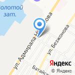 Магазин строительных материалов на карте Астрахани