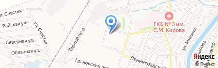 Милениум 21 век на карте Астрахани