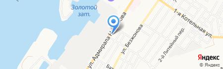 Эддар на карте Астрахани