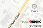Схема проезда до компании Элиф в Астрахани