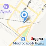 Хозяйственный магазин на карте Астрахани