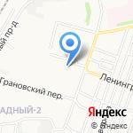 Средняя общеобразовательная школа №9 на карте Астрахани