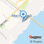 Судостроительно-судоремонтный завод им. Ленина на карте Астрахани