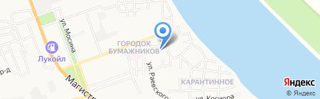 Специальная коррекционная общеобразовательная школа-интернат №4 для обучающихся воспитанников с ограниченными возможностями здоровья на карте Астрахани