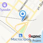 СТО друзей на карте Астрахани