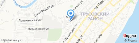 Хлебокондитерский цех на карте Астрахани