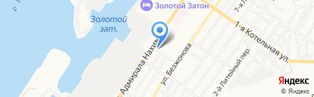Фигаро на карте Астрахани