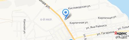 Astraкерамика на карте Астрахани