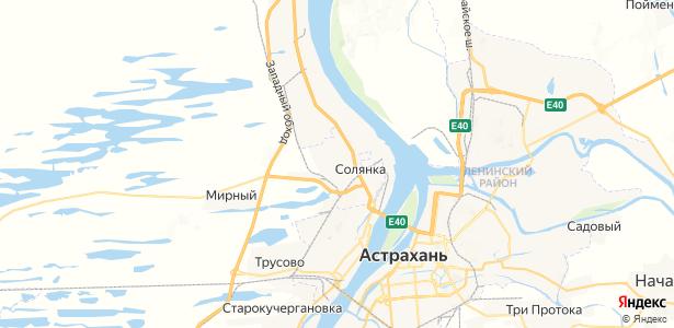 Солянка на карте