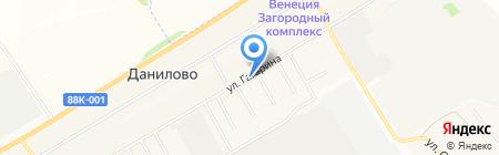 Татарстан на карте Йошкар-Олы