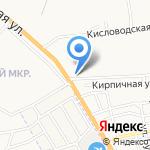 Астракерамика на карте Астрахани