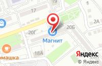 Схема проезда до компании МАКСИ-СЕРВИС в Астрахани