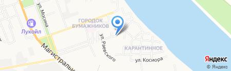 Дарья на карте Астрахани