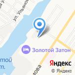 Астрахань на карте Астрахани
