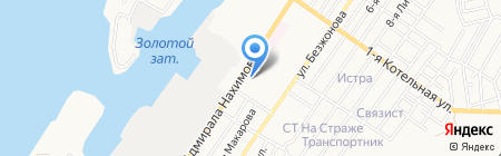 Санчо Панса на карте Астрахани
