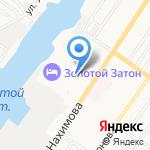 Совет ветеранов Каспийской флотилии на карте Астрахани