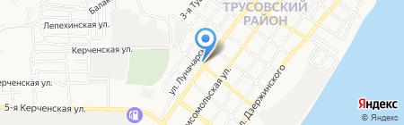 Лина на карте Астрахани
