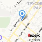 Аптечный пункт на карте Астрахани