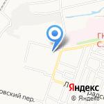 Киоск по продаже выпечки на карте Астрахани