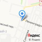 Автоцентр на карте Астрахани