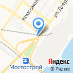 Сеть магазинов на карте Астрахани