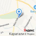 Центр авторазбора на карте Астрахани