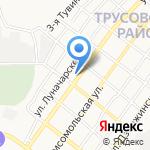 Элит на карте Астрахани